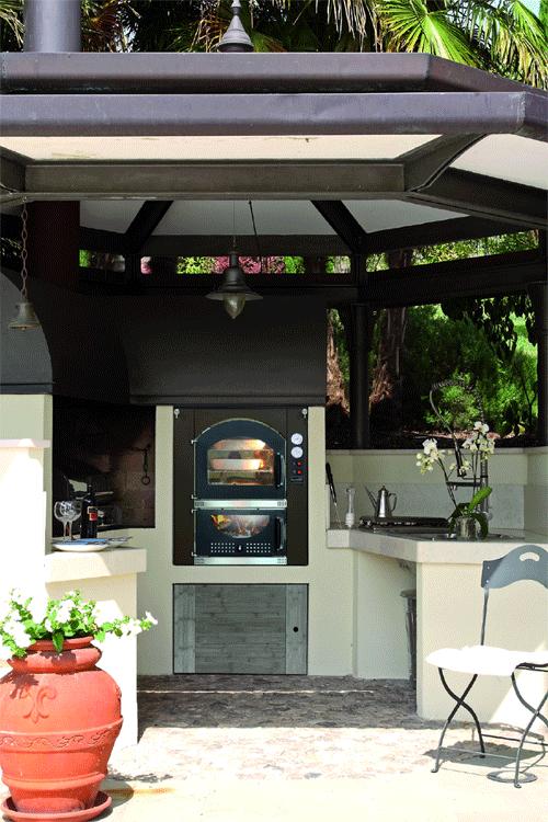 Barbecue MCZ avec four