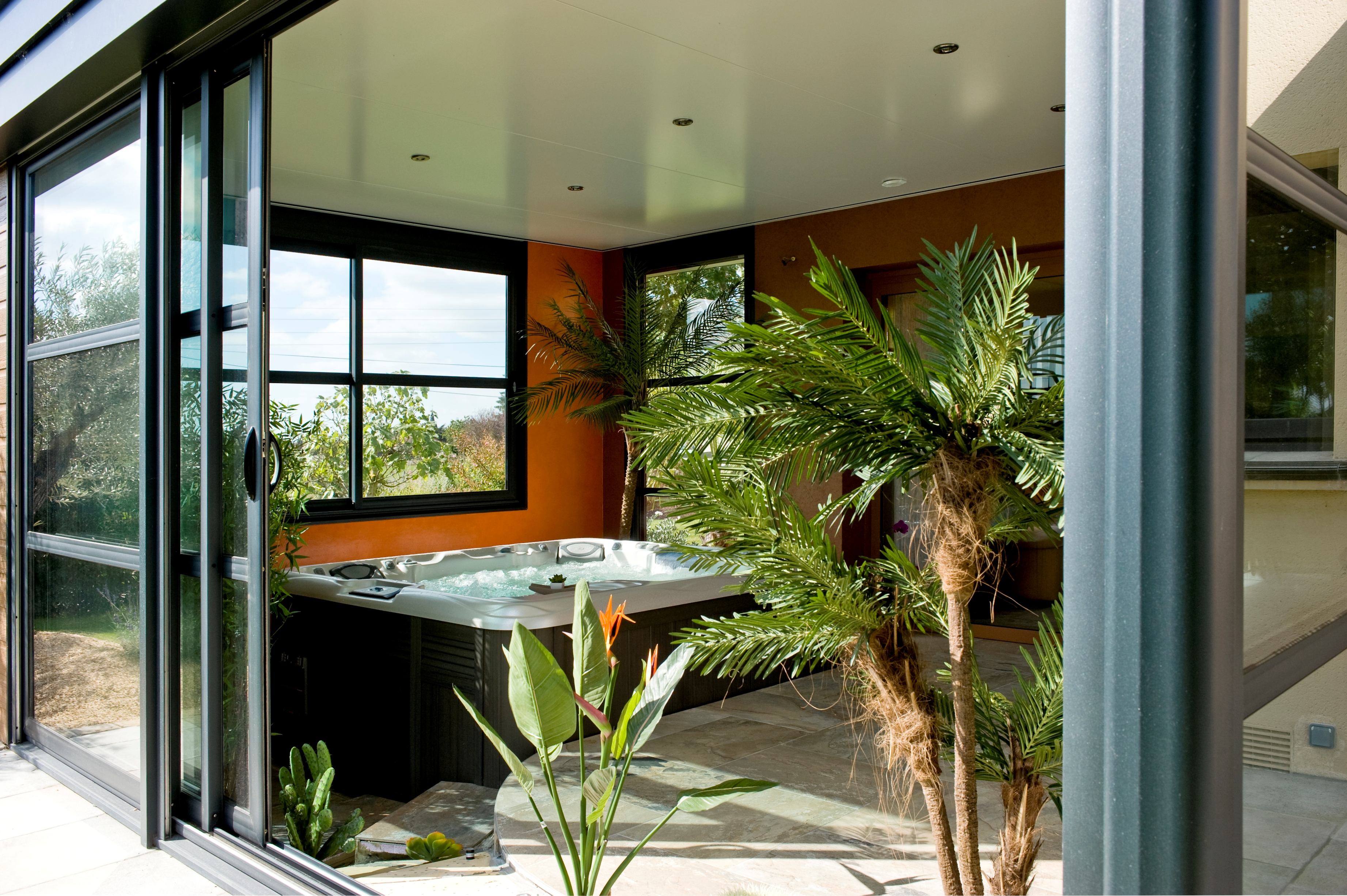 Abri Veranda Pour Spa reno11150 - ecologis experts